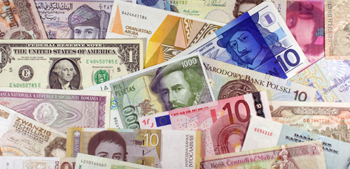 picture of world currencies